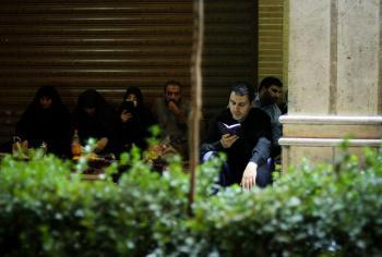 اذیت و آزار مردم در خیابان شریعتی در شب قدر