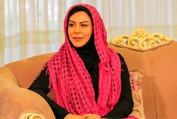 هنرپیشه زن رامبد جوان را با احمدی نژاد مقایسه کرد!!!+عکس