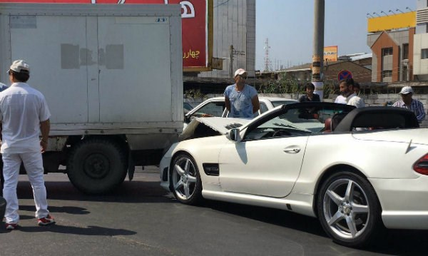در صورت تصادف با خودروهای لوکس از این قانون استفاده کنید
