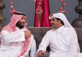 تملق جدید قطری ها برای ولیعهد جدید عربستان