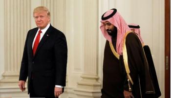 ترامپ ولیعهد عربستان شد!