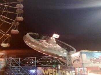 لحظه رعبآور واژگونی سفینه فضایی در ایلام + فیلم