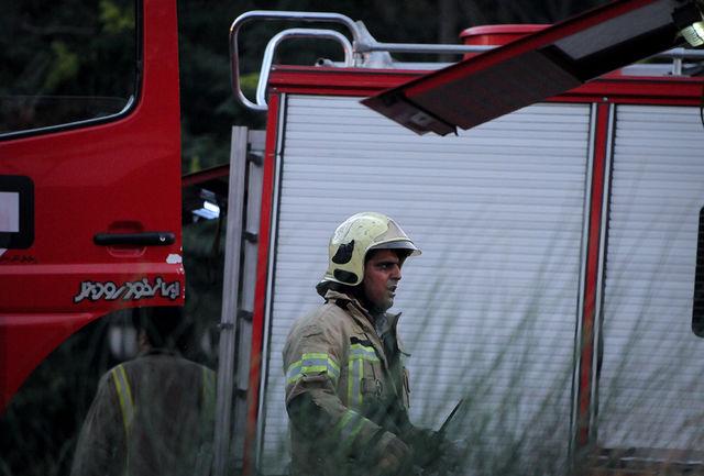 مصدومیت شدید 100نفر از کارگران در آتش سوزی انبار گوگرد