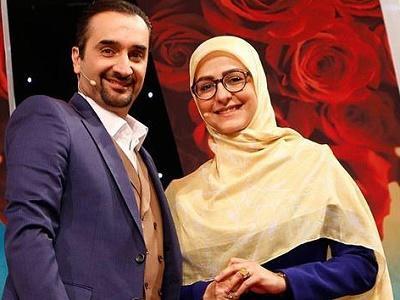 جنجال در اتفاقی بی سابقه /دو مجری زن و مرد در برنامه زنده تلویزیون همدیگر را آغوش گرفتند!!!+فیلم
