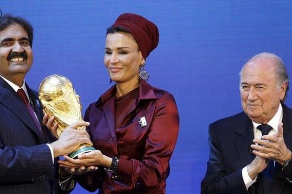 نحوه بدست آوردن میزبانی جام جهانی 2022 توسط قطر لو رفت