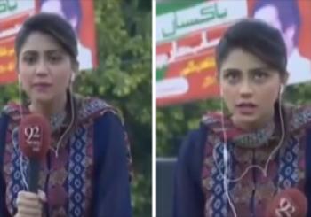 لحظه مرگ مجری تلویزیون در برنامه زنده +فیلم