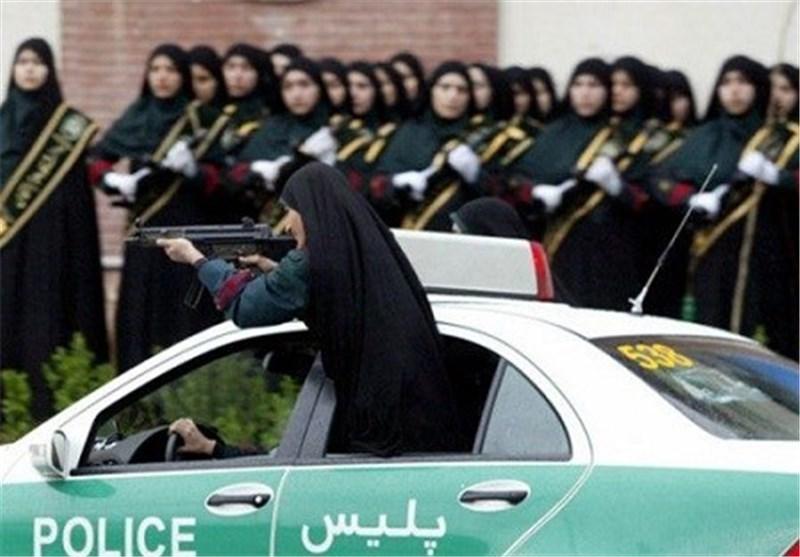 منطقه ورود ممنوع برای مردان پلیس ایرانی