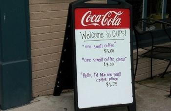 ایده جالب و بسیار کاربردی برای برخورد با مشتریان بی ادب! +عکس