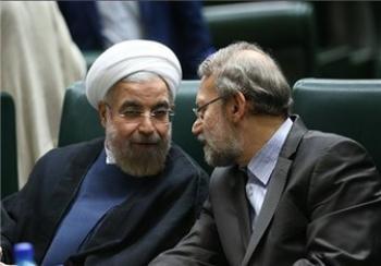 رایزنی لاریجانی و روحانی برای انتخاب وزرا