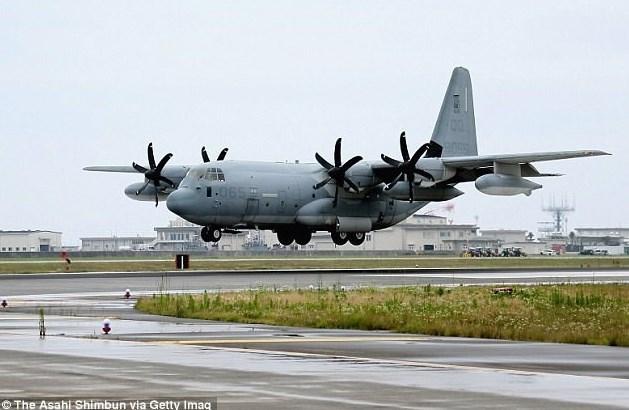 یک هواپیمای نظامی آمریکا منفجر شد+ عکس