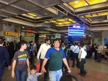 فیلم جدید از حادثه امروز مترو شهرری