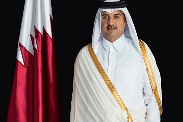 قطر موضع خود را  180 درجه تغییر داد