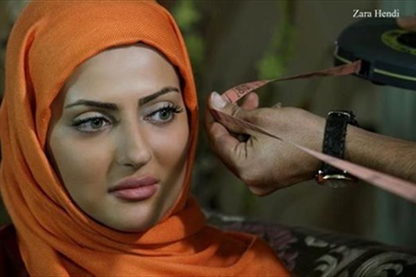 حادثه برای بازیگر زن ایرانی سر صحنه +عکس