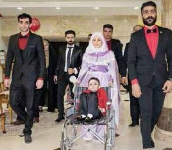 پسر 7 ساله خوزستانی ازدواج کرد! + عکس