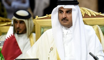قدردانی امیر قطر از ایران در نطق تلویزیونی