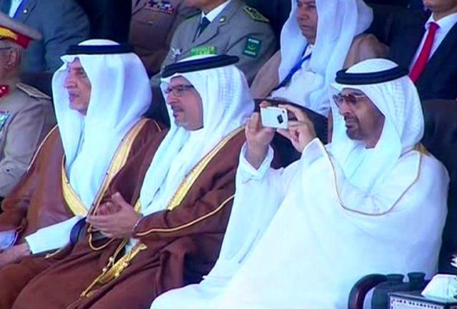 رفتار عجیب ولیعهد ابوظبی در مصر!+عکس
