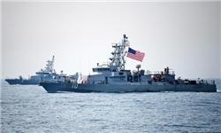 فوری /شلیک اخطاری ناو آمریکایی به سمت قایق ایرانی