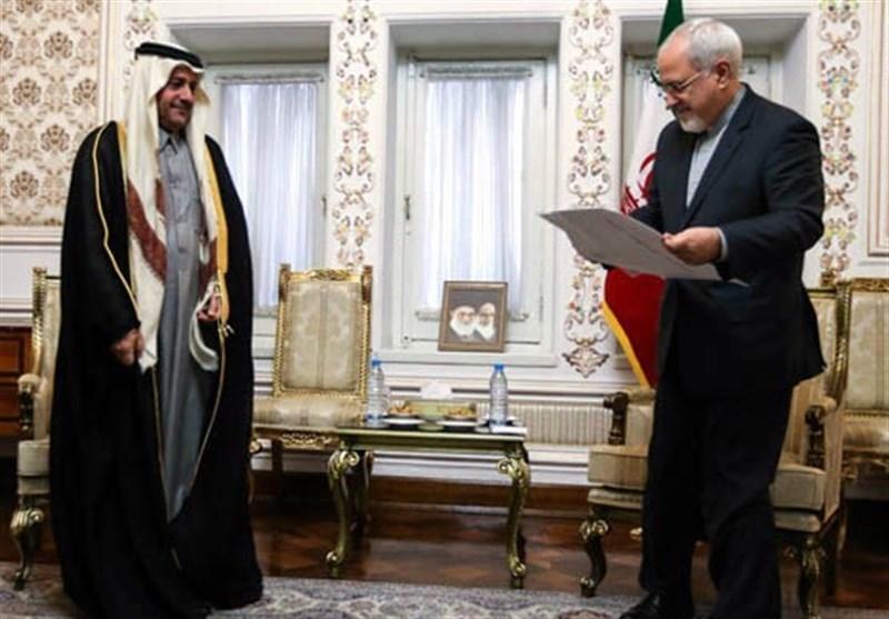 سفیر قطر وارد ایران شد