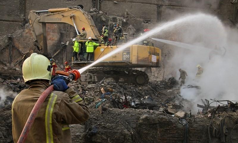 علت اصلی وقوع حادثه پلاسکو اعلام شد