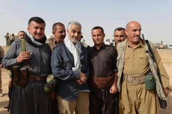 ادعای بیبیسی درباره عزیمت سردار سلیمانی به اقلیم کردستان