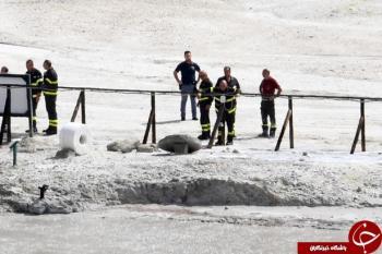سقوط مرگبار یک خانواده ایتالیایی به دهانه آتشفشان + تصاویر