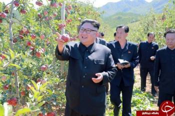 رهبر کره شمالی زمان سخنرانی ترامپ کجا بود؟ +تصاویر