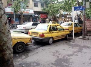 تاکسی پیکان از پایتخت می رود