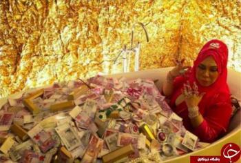 فخرفروشی زن پولدار، صدای کاربران را درآورد!+تصاویر