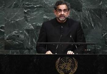 سخنان آتشین نخست وزیر پاکستان در سازمان ملل