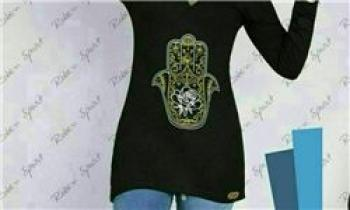 ورود لباسهای مشکی با نماد شیطانپرستی به بازار کشور+عکس