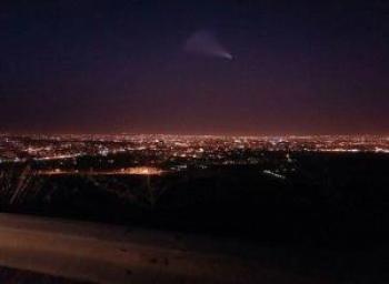 آخرین جزئیات مشاهده  شیء نورانی در آسمان خراسان