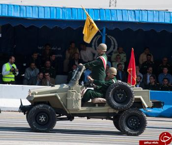 خودروی زرهی ایرانی، سفیر پیروزی برای حشدالشعبی عراق+عکس
