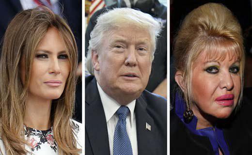 همسران دونالد ترامپ به جان هم افتادند+ عکس