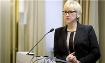 آزار جنسی وزیر خارجه سوئد در ضیافت شام سران کشورهای اروپایی!!!