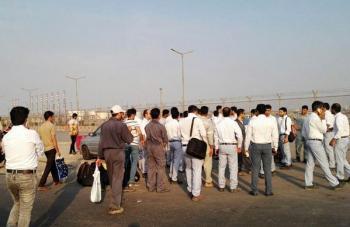 بازگشت بهکار کارگران تبدیل وضعیت یافته پالایشگاه ستاره خلیج فارس