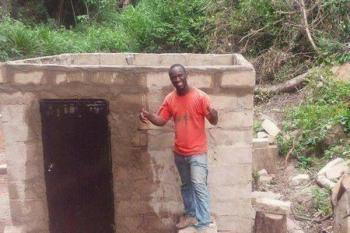 آقای معلم با جستجو در اینترنت روستایش را متحول کرد +عکس