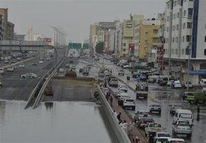 «جده عربستان» غرق شد +عکس