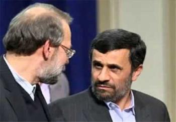 جزئیات تماس تلفنی لاریجانی و احمدینژاد پس از  جمعه سیاه