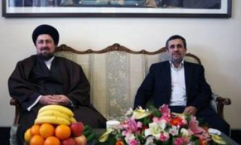 ماجرای معامله حسن خمینی با احمدینژاد!؟+ تصاویر