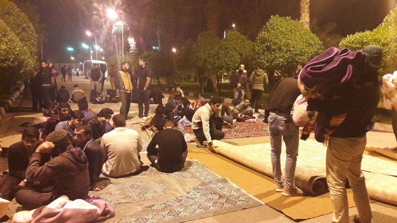 اعتراضات دنباله دار دانشجویان، دانشگاه صنعت نفت