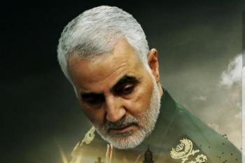 واکنش سردار سلیمانی به تصمیم ترامپ + عکس