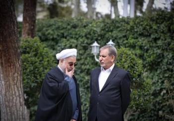 اختلاف علنی روحانی و جهانگیری!