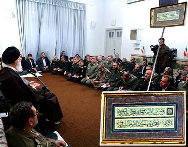ماجرای تابلوی نصب شده در اتاق رهبری چیست؟ +عکس