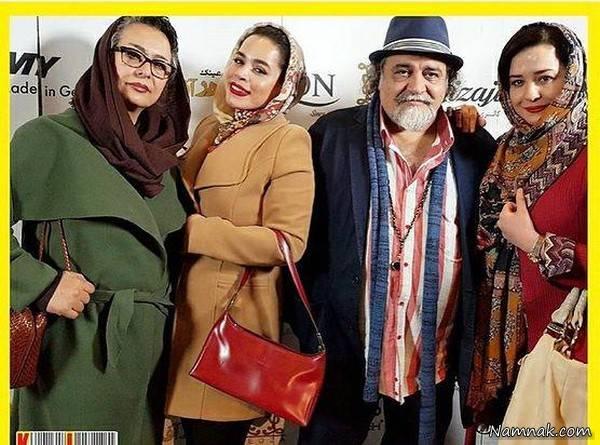 دیدار آقا و خانم بازیگر مشهور ایرانی بعد از طلاق + عکس