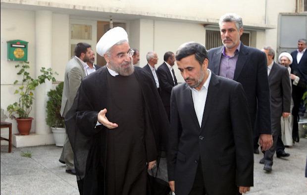 احمدی نژاد در روز تحویل ریاست جمهوری به روحانی به او چه گفت؟