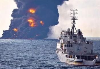 جزئیات جدید از حادثه سانچی/برخورد کشتی چینی به سانچی عمدی بود