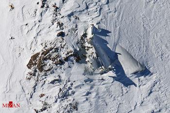 کارت ملی یکی از جانباختگان هواپیمای یاسوج از زیر برف پیدا شد+عکس