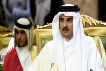 امیر قطر شترهایش را از عربستان به ایران وارد می کند!