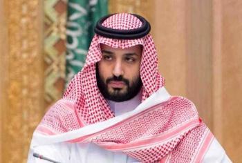 پرتاب کفش به طرف ولیعهد عربستان در آمریکا