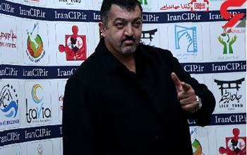 حفاظت بادیگارد جنیفر لوپز از جسد ناصر ملک مطیعی + عکس